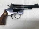 "Smith & Wesson Model 34-1, 22LR Kit Gun. 4"" barrel, Blue - 5 of 9"