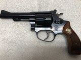 "Smith & Wesson Model 34-1, 22LR Kit Gun. 4"" barrel, Blue - 1 of 9"