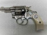 Colt Factory Engraved and Cased Pocket Positive, 32 Colt - 5 of 14