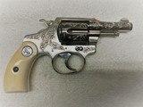 Colt Factory Engraved and Cased Pocket Positive, 32 Colt - 7 of 14