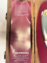 Browning Great Divide Jade Handle Knife # 462 of 2000 - 3 of 5