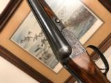 "FACTORY DH 12GA STRAIGHT STOCK 32"" PIGEON GUN -- 95% ORIGINAL"