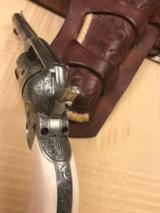 "Colt SAA ""Sears Pattern"" David Wade Harris Engraved --- Magnificent - 3 of 14"