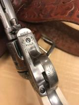"Colt SAA ""Sears Pattern"" David Wade Harris Engraved --- Magnificent - 8 of 14"