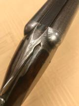 """Parker Gh 16ga on a 0 frame 28"""" Damascus with condition - 7 of 13"""