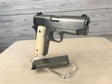 Colt 1911 Series 80 Officers .45 acp with Ivory Grips -- NIB - 7 of 20