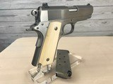 Colt 1911 Series 80 Officers .45 acp with Ivory Grips -- NIB - 5 of 20