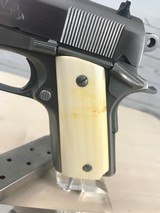 Colt 1911 Series 80 Officers .45 acp with Ivory Grips -- NIB - 10 of 20