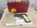 Colt 1911 Series 80 Officers .45 acp with Ivory Grips -- NIB - 15 of 20