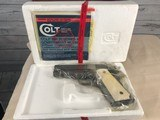 Colt 1911 Series 80 Officers .45 acp with Ivory Grips -- NIB - 16 of 20