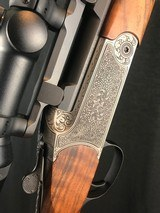 blaser k95 luxus 300 weatherby stalking rifle with swarovski scope as new