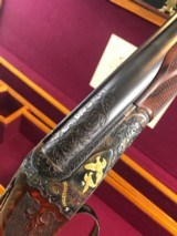 AH FOX SPECIAL 28GA RICHARD ROY ENGRAVED WITH CASE -- THE BEST!!!!!!!!!!!!!