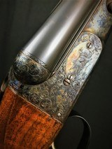 """PARKER DHE 20GA 32"""" #1 FRAME 3"""" CHAMBERS -- STRAIGHT GRIP CHECKERED BUTT - 1 of 9"""