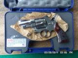 """SMITH & WESSON MODEL 29-10, 44 MAGNUM, SPECIAL ORDER 3"""" NICKEL - 1 of 8"""