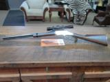 HENRY GOLDEN BOY 22 MAGNUM LEVER RIFLE SIGHTED IN ONLY W/ LEUPOLD 2X7X28 SCOPE.99% PLUS