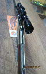 HENRY GOLDEN BOY 22 MAGNUM LEVER RIFLE SIGHTED IN ONLY W/ LEUPOLD 2X7X28 SCOPE.99% PLUS - 7 of 13