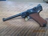 LUGER NAVY 1917 DWM 9MM LUGER 96% PLUS OVERALL ORIGINAL AND MATCHING.