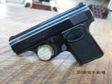 "BROWNING ""BABY"" 25 ACP SEMI-AUTO PISTOL 96% OVERALL ALL ORIGINAL"