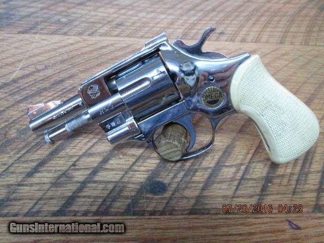 ARMINIUS HW3 OMEGA GERMAN MADE 7 SHOT 32 S&W LONG REVOLVER