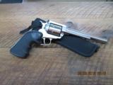RUGER NEW MODEL (MFG 1983) SUPER BLACKHAWK 44MAG. 6 SHOT STAINLESS REVOLVER 99% OVERALL