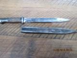 NAZI 98K WWII BAYONET WALNUT GRIPS WAFFEN 883 1938 DATE