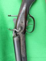 AUSTRIAN SXS CAPE GUN NITRO PROOFED CIRCA 1902, 16GA X 9.3X72 - 9 of 18