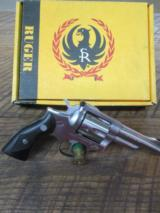 RUGER SECURITY SIX IN 38 SPECIAL ONLY RARE!