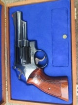 "SMITH & WESSON 29-2 4"" BLUE UNFIRED 100% IN PRESENTATION BOX"