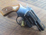 SMITH & WESSON MODEL 36-2 38 SPECIAL 2 INCH BLUED REVOLVER