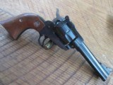 RUGER SINGLE SIX REVOLVER NEW MODEL .22 LR LATE 70'S