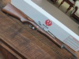 RUGER MINI 14 182 SERIES WITH STAINLESS METAL AND WOOD STOCK