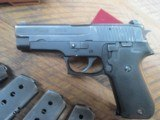 SIG SAUER P220 45 ACP SEMI AUTO PISTOL!12 MAGS - 2 of 9