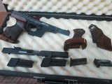 WALTHER MODEL GSP .22LR-32 LONG COMBO WITH GRIPS AND AMMO EXCELLENT CONDITION