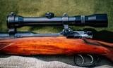 Mannlicher Schoenauer Magnum Rifle .338 winchester circa 1962