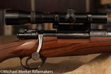F.N. MAUSER 30/06 WITH SINGLE LEVER MOUNT KAHLES HELIA SCOPE
