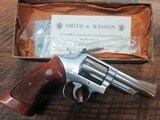 SMITH & WESSON MODEL 66-1 COMBAT MAGNUM 4 INCH STAINLESS - 1 of 13