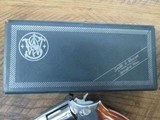 SMITH & WESSON MODEL 66-1 COMBAT MAGNUM 4 INCH STAINLESS - 12 of 13
