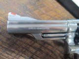SMITH & WESSON MODEL 66-1 COMBAT MAGNUM 4 INCH STAINLESS - 8 of 13