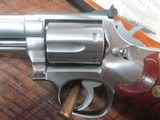 SMITH & WESSON MODEL 66-1 COMBAT MAGNUM 4 INCH STAINLESS - 7 of 13