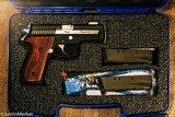SIG SAUER CUSTOM SHOP EQUINOX 40 S&W SEMI AUTO USED LIKE NEW BAR-STO FACTORY INSTALLED BARREL