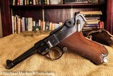 LUGER S/42 1936 WWII ALL MATCHING WITH MAGAZINE AND HOLSTER