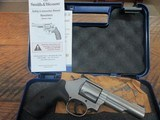 SMITH & WESSON MODEL 69 IN .44 MAGNUM 4 INCH STAINLESS NIB