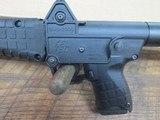 kel-tec sub 2000 glock 19 9mm semi auto rifle, folding stock. Glock mag - 7 of 8