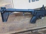 kel-tec sub 2000 glock 19 9mm semi auto rifle, folding stock. Glock mag - 2 of 8