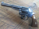 SMITH & WESSON MODEL K-22 MASTERPIECE .22LR REVOLVER - 6 of 12