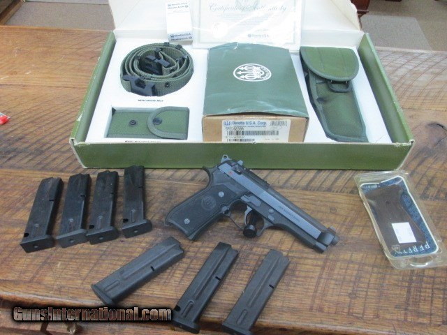 Beretta M9 special edition Pistol Original box Accessories