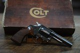COLT POLICE POSITIVE 3RD MODEL IN MATCHING BOX 99%PLUS 38 SPECIAL 1977-78 ONLY