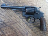 SMITH & WESSON VICTORY MODEL 38 SPECIAL REVOLVER - 5 of 8