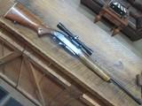 remington 742 woodsmaster semi auto 308 rifle scoped and ready