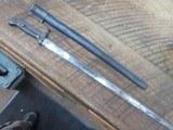 DANISH M1915 SWORD BAYONET WITH SCABBORD